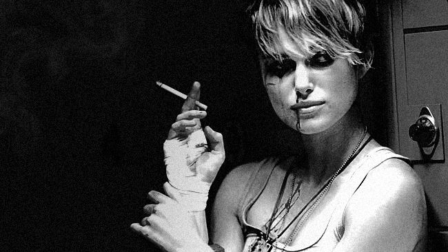 """""""As for that other world, that 90210 world, it's not for me."""" - Keira Knightly (as Domino Harvey), Domino"""