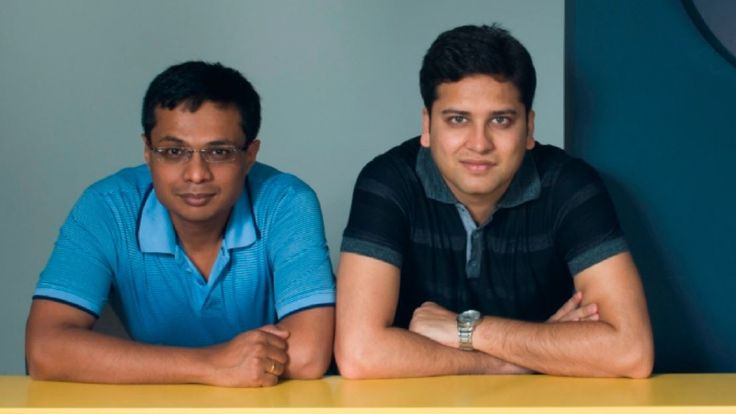 Sachin Bansal and Binny Bansal named to 2016 TIME 100.