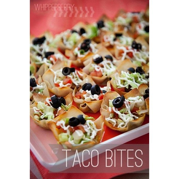 Little Bug Baby Shower Food Elements ❤ liked on Polyvore