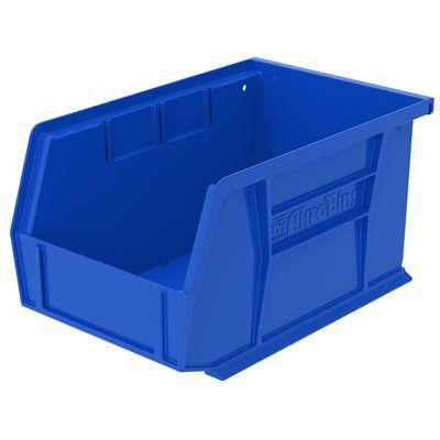 Carton of 12 Plastic Bins 9-1/4x6x5