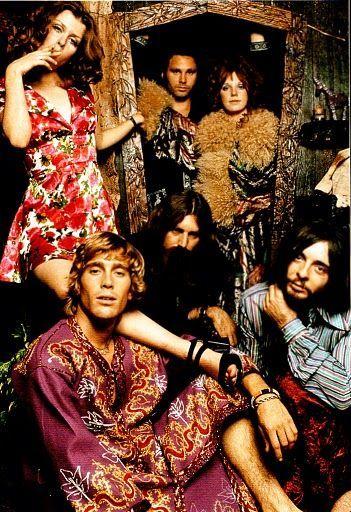 Jim Morrison and Pamela Des Barres
