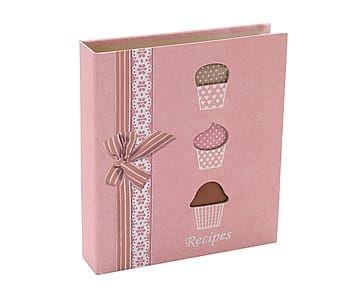 Ежедневник - картон - розовый, 20х5х23 см