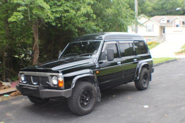 1990 Nissan Safari Patrol 4x4 4.2L Diesel