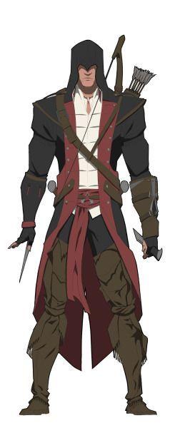 [AC3] Assassins in Black - Connor