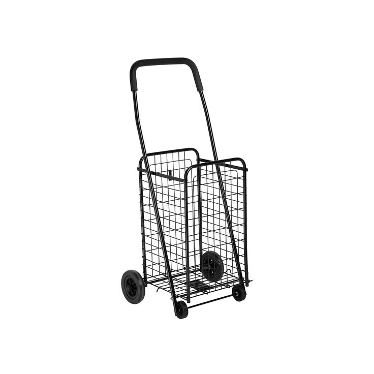 Honey-Can-Do Rolling Utility Cart, Black
