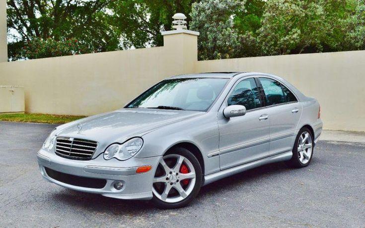 2007 mercedesbenz cclass c230 4dr sedan 25l sport rwd