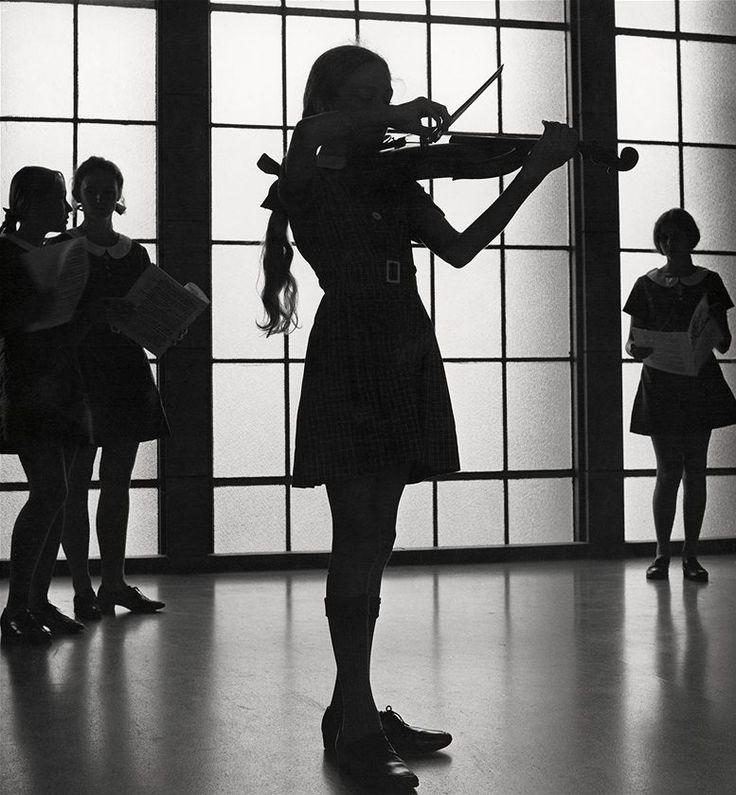 Violinist, Max Dupain.(1911 - 1992)
