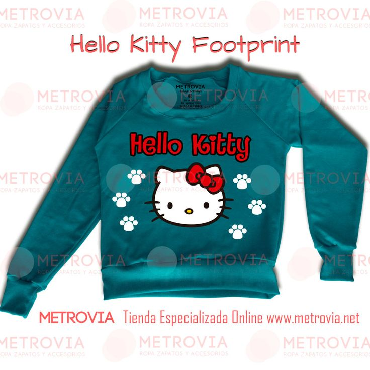 Hello Kitty Footprint