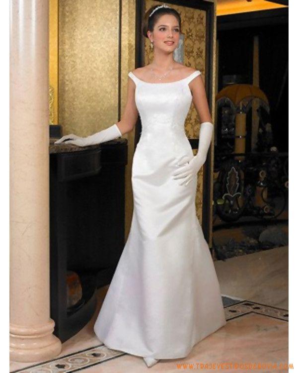 Vestidos De Novia Elegantes Buscar Con Google Wedding Dresses Wedding Dresses Satin Court Train Wedding Dress