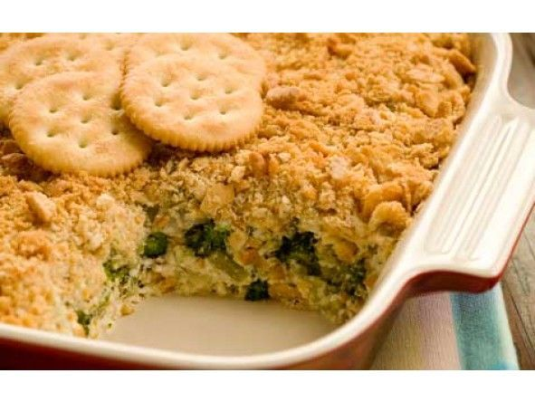 Broccoli Casserole.  Great casserole. Works as a fantastic side. Yumma!