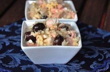 Polpo, tonno e olive con riso Carnaroli originale - Chef ASDOMAR