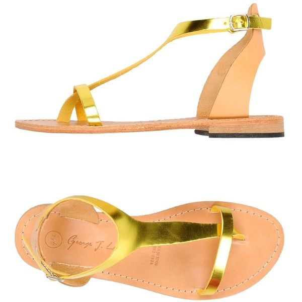 Footwear - Toe Post Sandals George J. Chaussures - Orteil Sandales Post George J. Love Amour yfQ2pLgI