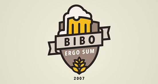 BIBO ERGO SUM Badge