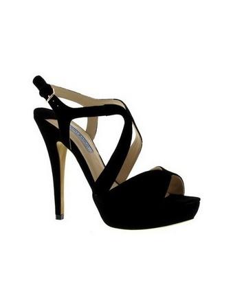 tony bianco 'carousel' black sandal