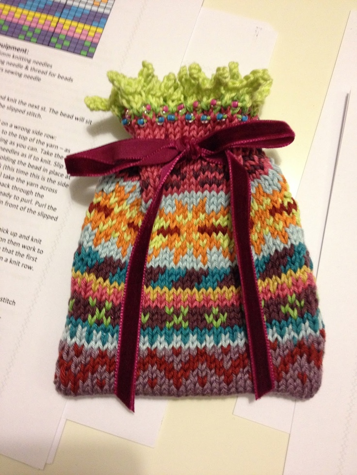 76 best Fair Isle and other stranded knitting images on Pinterest ...