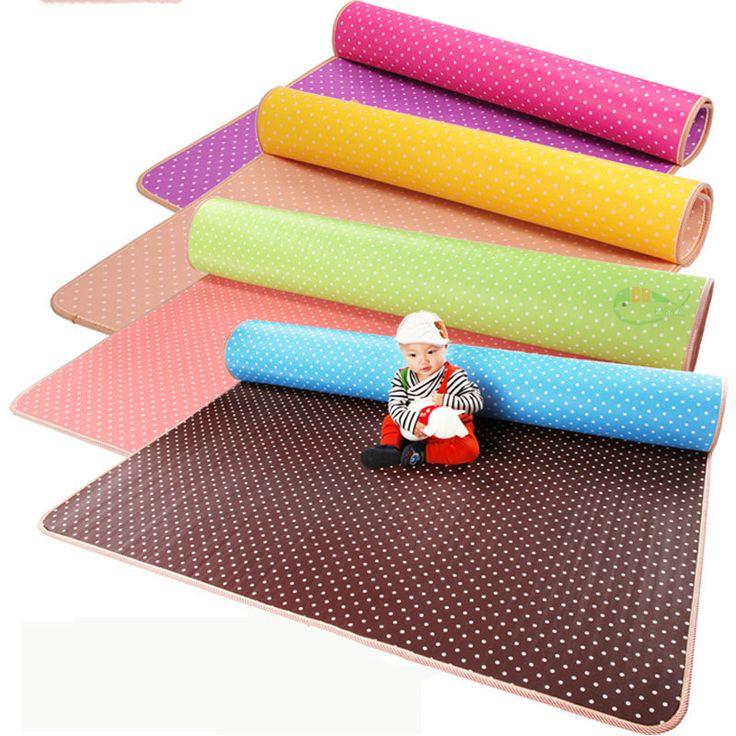 Hot! busa padat Bayi Bermain Tikar/ganda berwajah Merangkak Pad, bermain + Keselamatan + Gym + olahraga lantai Tikar untuk Anak-anak Memanjat, thicknes0.5cm