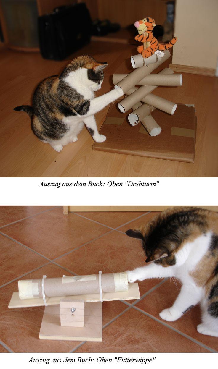 die 25 besten ideen zu katzenspielzeug auf pinterest selbstgebauter kratzbaum katzen hacks. Black Bedroom Furniture Sets. Home Design Ideas
