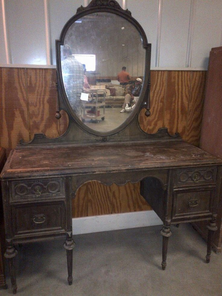 Repainted Old Vanity :: Hometalk