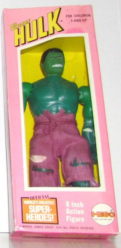 MEGO: 1974 The Incredible Hulk Action Figure