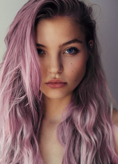 Wish I could get away with this gorgeous purple to lavender ombre hair! #hair #longhair