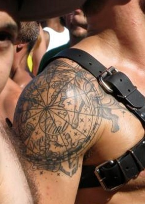 72 best how to decorate yourself images on pinterest tattoo ideas old world map tattoo idea gumiabroncs Gallery