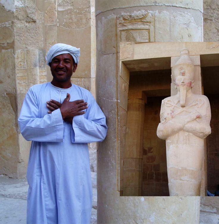 Ausflüg zum Hatschepsuptempel in Aegypten