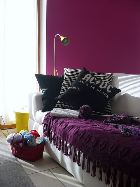 Dishfunctional Designs Color Palette Deep Purple Blackberry And Aubergine Walls