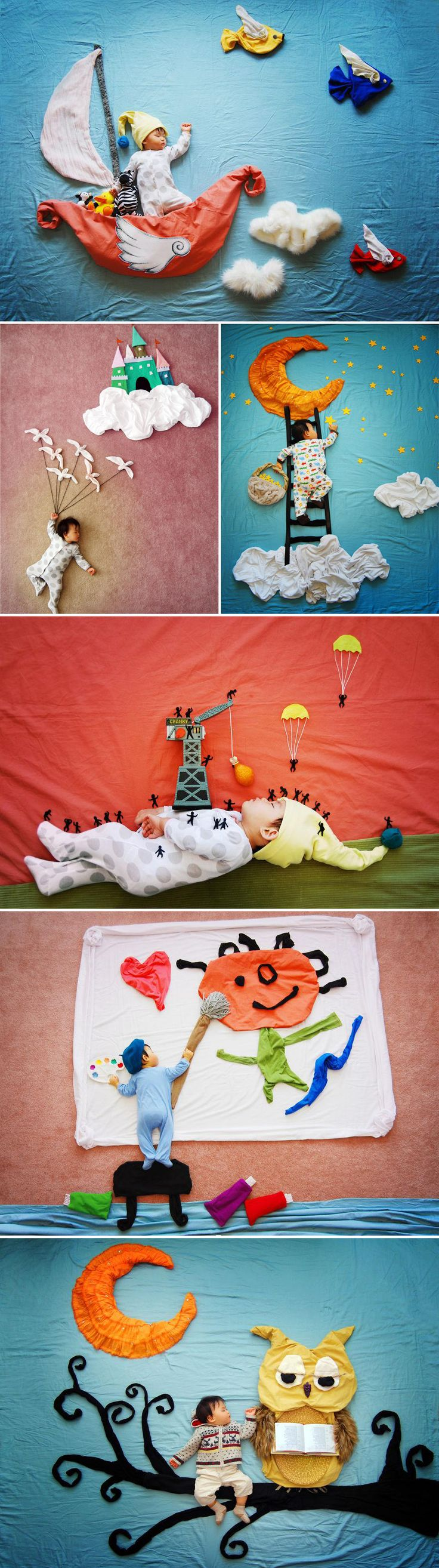 Creative Mom Turns Her Baby's Naptime Into Dream Adventures  http://www.boredpanda.org/wengenn-in-wonderland-sioin-queenie-liao/