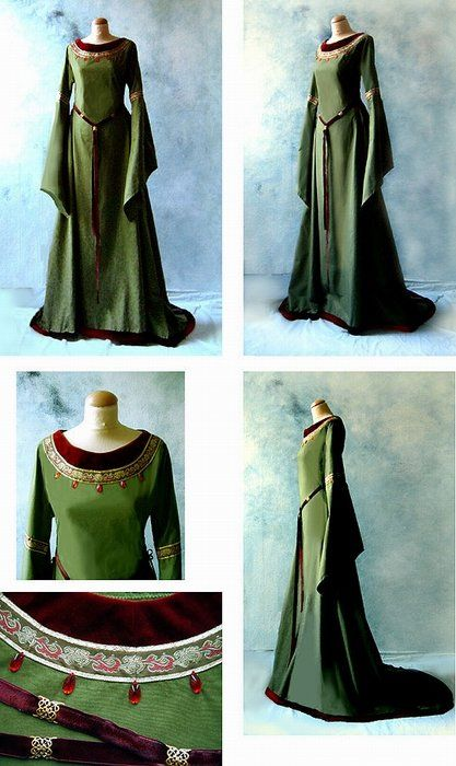 elven-hime:  There will be a role game about Tolkien`s world (Lord of the Rings period) this summer. And I think I`m going to play an Elf from Galadriel`s retinue~ So I have to sew an Elven dress »o«