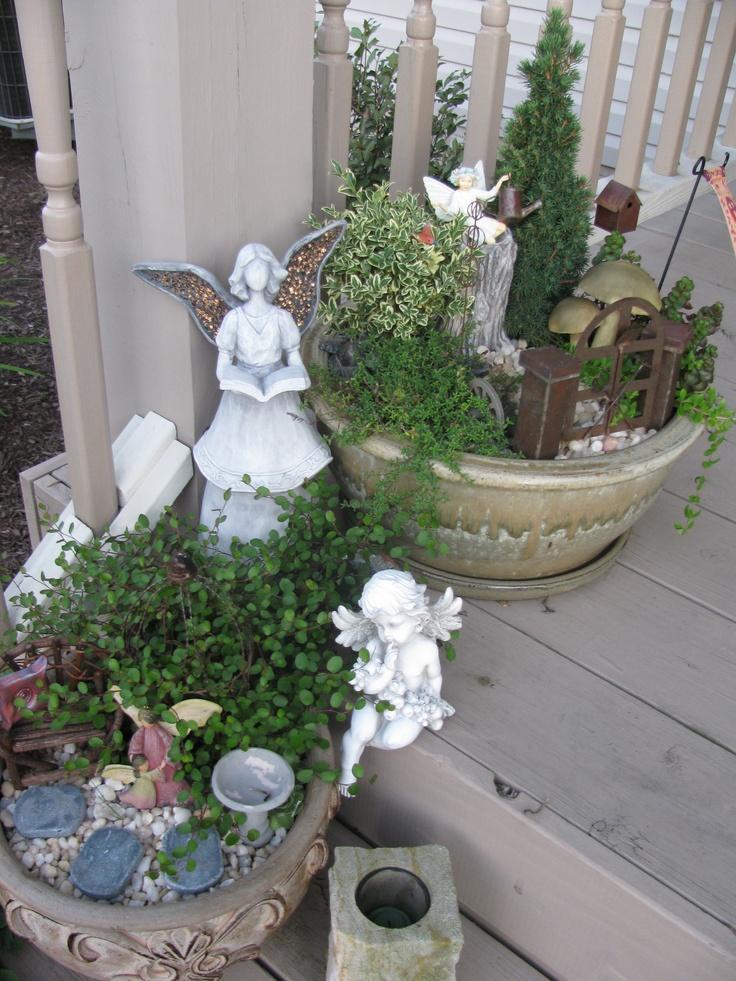 First Fairy Gardens! Love them!