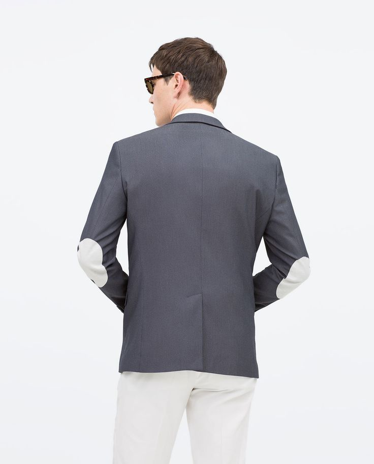 Blazers Zara España: ZARA - MAN - BLAZER WITH ELBOW PATCHES