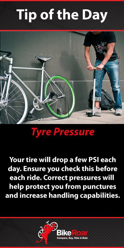 When pressure is good… #BikeRoarTOD