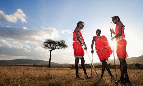 Maasai Tribesman - Masai Mara Kenya