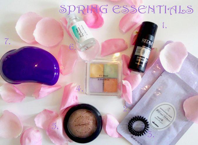#springessentials by fasheria - meine #beautytipps für euch http://fasheria.com/spring-essentials/