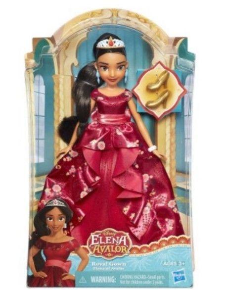 "Hasbro Disney Jr Classic Doll Elena Of Avalor in Royal Gown 11""  Age 3+ USA Sell #HASBRODISNEYJR"