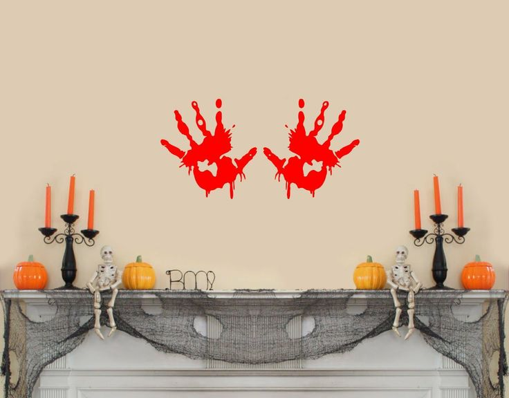 Pinterest Halloween Wall Decor : Images about happy halloween wall decals on