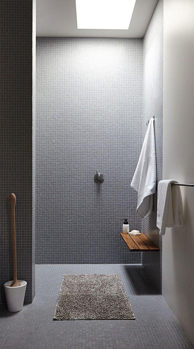 Die besten 25+ Graue badezimmereinrichtung Ideen auf Pinterest - modernes badezimmer grau