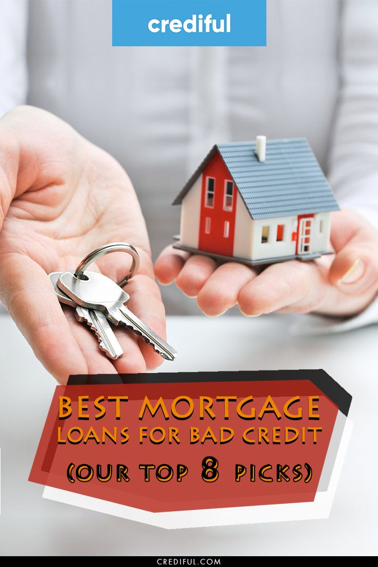 9 Best Mortgage Loans For Bad Credit Of 2020 Loans For Poor Credit Best Mortgage Lenders Loans For Bad Credit