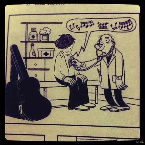 True musician :)