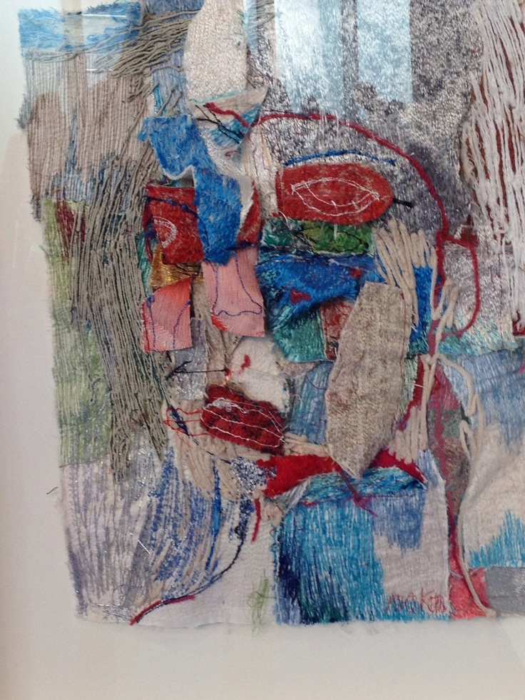 Beautiful textile art by Alice Kettle