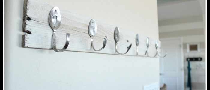 Spoon and Pallet Hook Rack