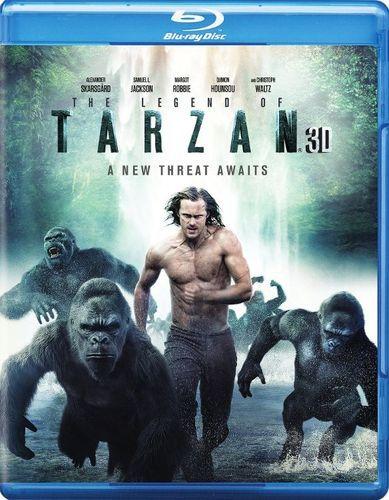 The Legend of Tarzan [3D] [Blu-ray/DVD] [Blu-ray/Blu-ray 3D/DVD] [2016]