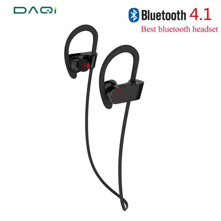 Best Fashion Wireless Bluetooth Earphone 4.1 Stereo Headset Waterproof Sports Earphone With MIC for IPhone Samsung Smart phone