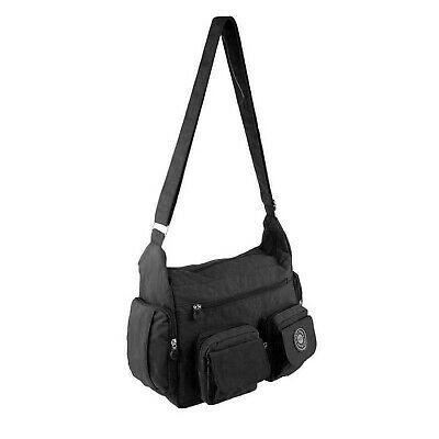 DAMEN TASCHE Schultertasche Canvas Umhängetasche Shopper Crossover Body-Bag: EU… – Italyshop24.com