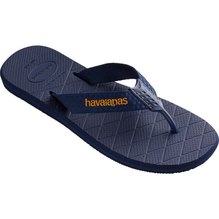 Havaianas Men's Level Flip Flops, Blue