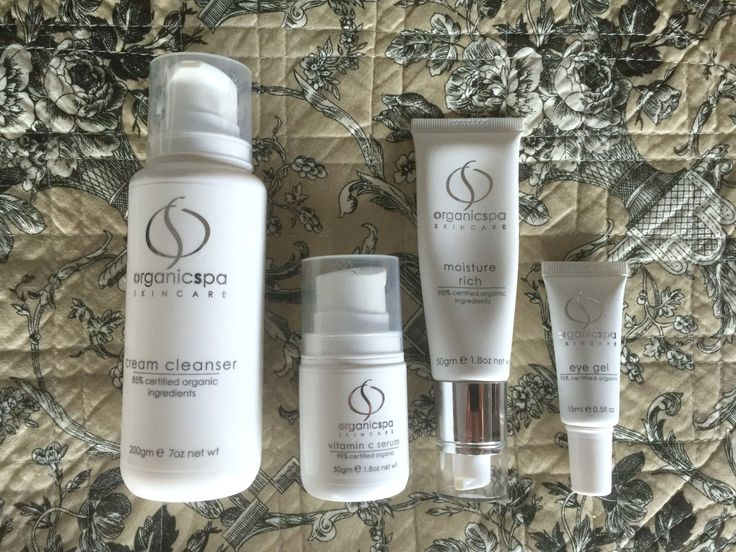 Organicspa Professional Skin Care Review by Eleventh Beauty, organic beauty blogger