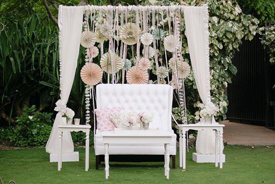 Shabby chic wedding ideas.
