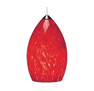 Tech Lighting Firefrit Pendant-Ferrari Red