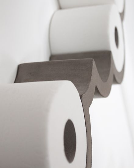 The Cloudy Day Toilet Paper Holder Is A Unique That Mounts To Your Wall And Resembles Outline Of Cloud