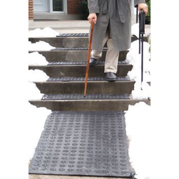 Best Electric Outdoor Stair Treads Hotflake™ Electric Heated 400 x 300